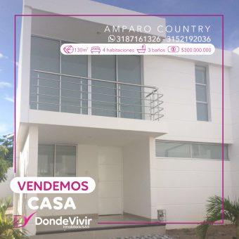 Casa En Conjunto Amparo Country