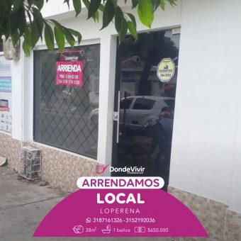 Local Comercial Calle 14 con Carrera 12 Loperena