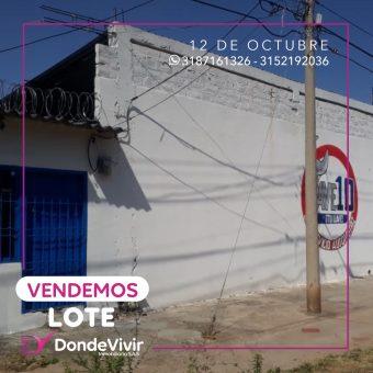 Lote en Barrio 12 de Octubre