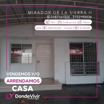 Casa en Conjunto Mirador de la Sierra 2