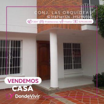 Casa en Conjunto Las Orquídeas