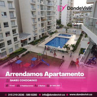 Apartamento en Bambú Condominio