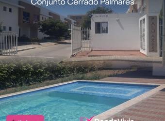 Apartamento en Conjunto Cerrado Palmares