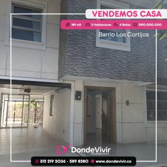 CASA BARRIO LOS CORTIJOS