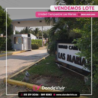 LOTE UNIDAD CAMPESTRE LAS MARÍAS