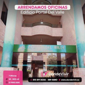 Oficinas en Edificio Portal Del Valle